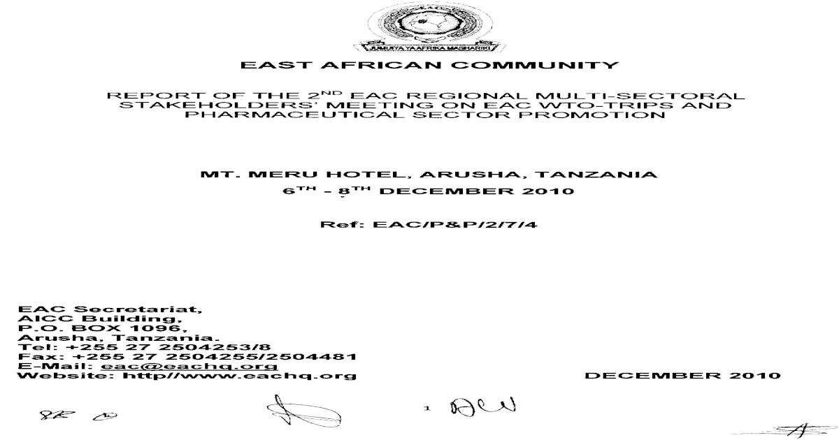 Report 2ndEACRegTRIPSMeeting Dec2010-SignedBW - [PDF Document]