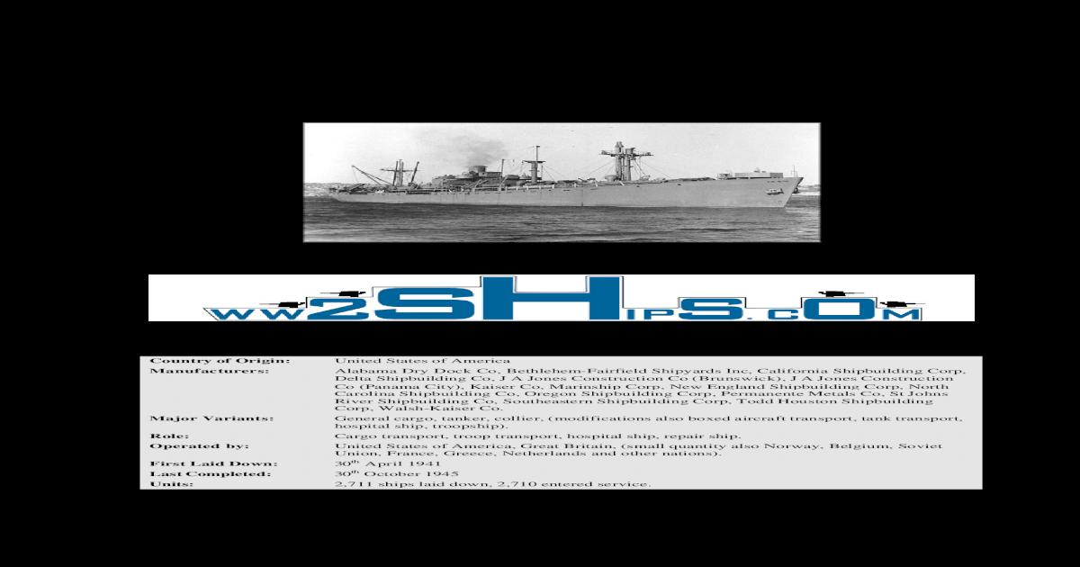 Liberty Ships - [PDF Document]