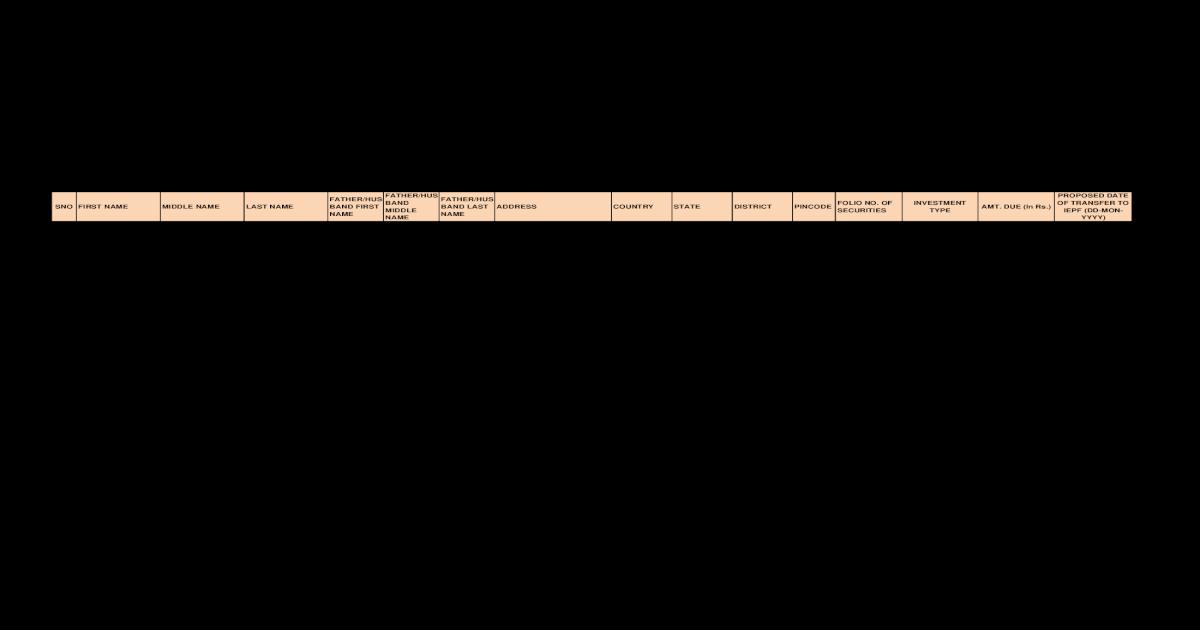 Amount of Matured Deposit - [PDF Document]
