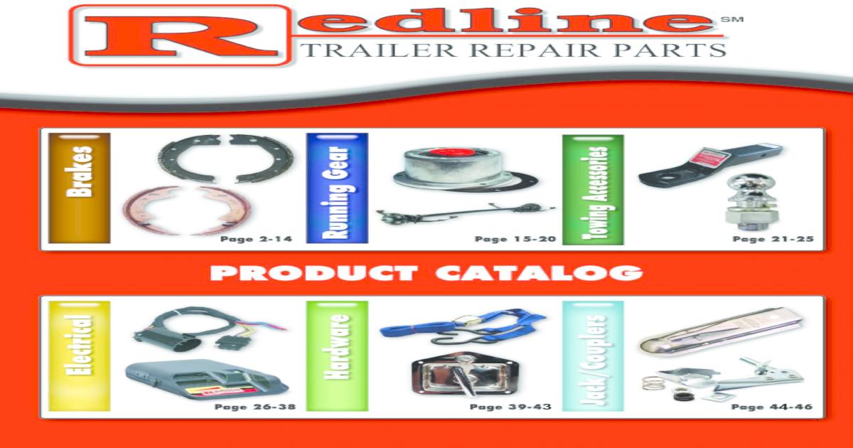 """Redline BP02-270 Trailer Brake Actuating Arm Kit LH 12 1//4/"""" x 2 1//2/"""" 7.2k  NOS"""
