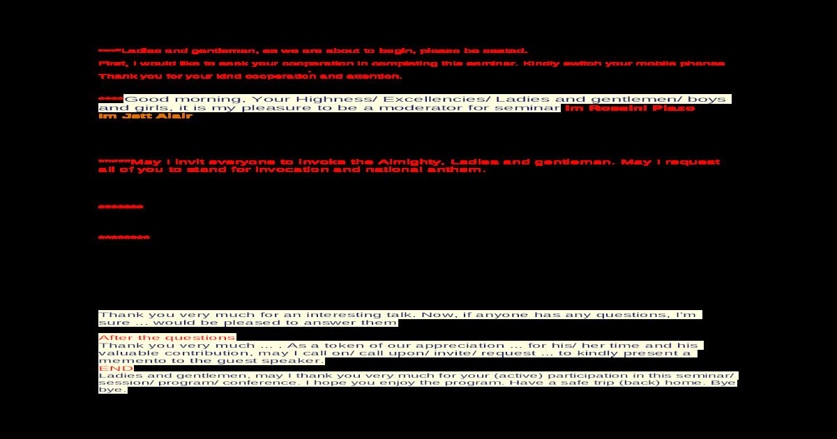 Emcee Script - [DOC Document]