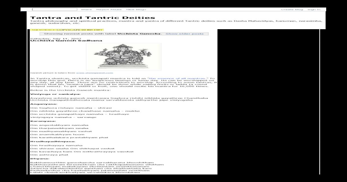 uchhista ganapati - [PDF Document]