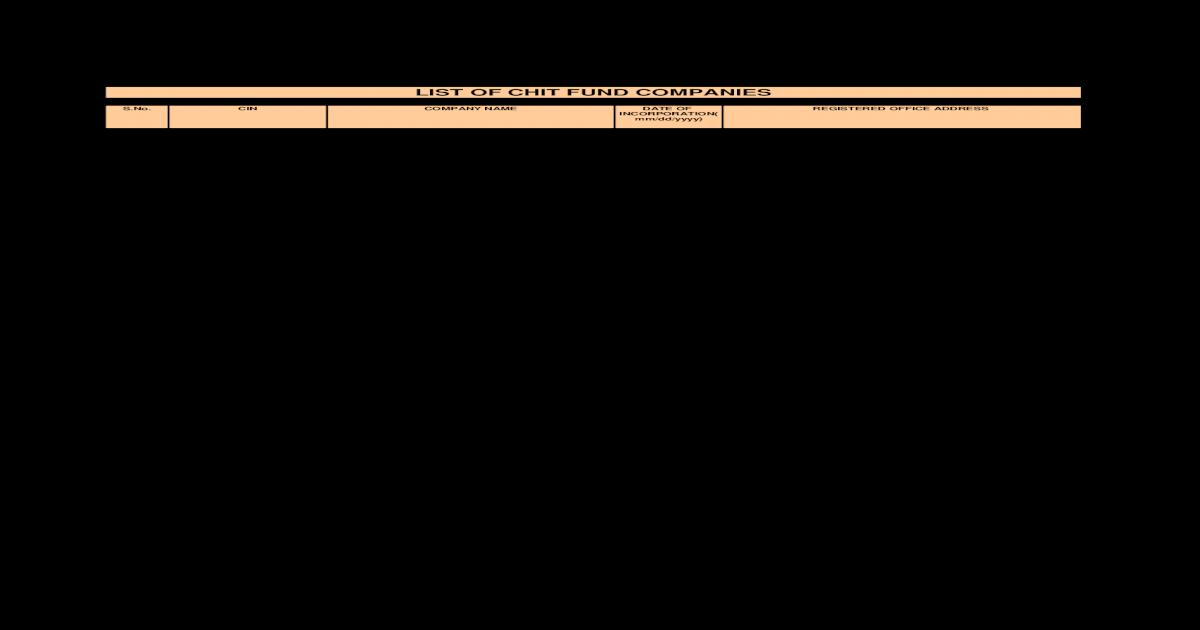Chit Fund Companies 6nov2008 - [PDF Document]