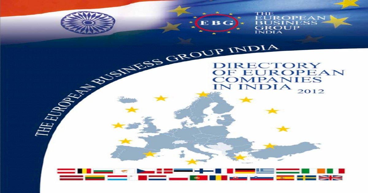 European-Companies-in-India-2012 pdf - [PDF Document]