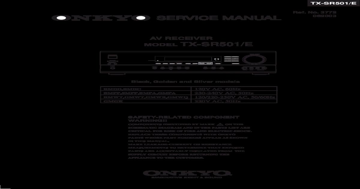 Service manual model tx | manualzz. Com.