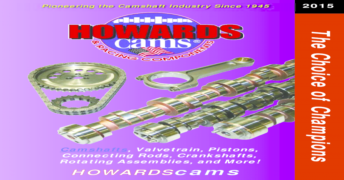 """HOWARD/'S Ford 351w Retro-Fit Hyd Roller 300//304 576/""""//576/"""" 110° Cam Camshaft"""